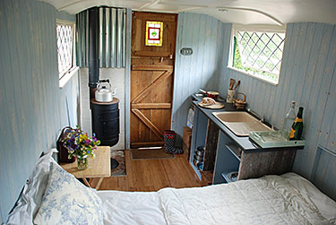 Interior of the Shepherds Hut